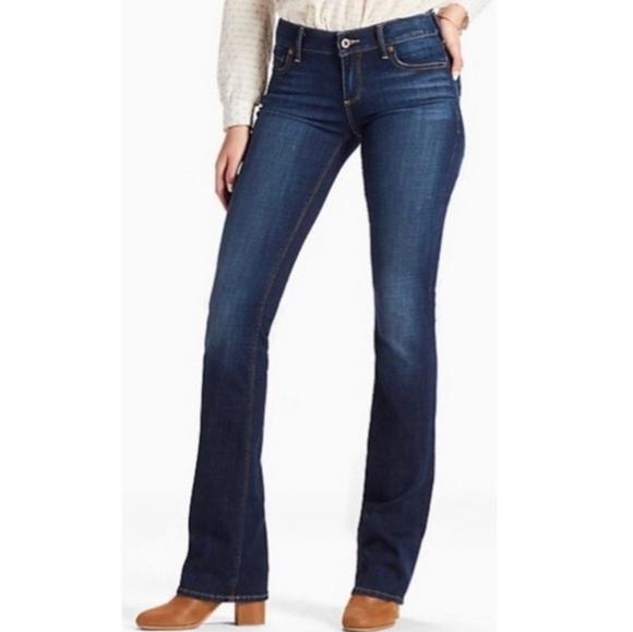 NWT Lucky Brand Women/'s Denim Jeans Boot Cut Sofia Dark Wash
